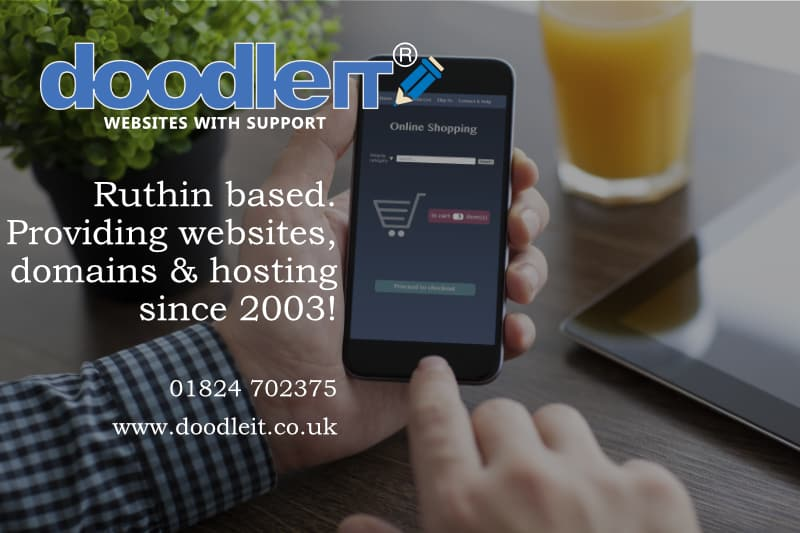 Local website design in North Wales