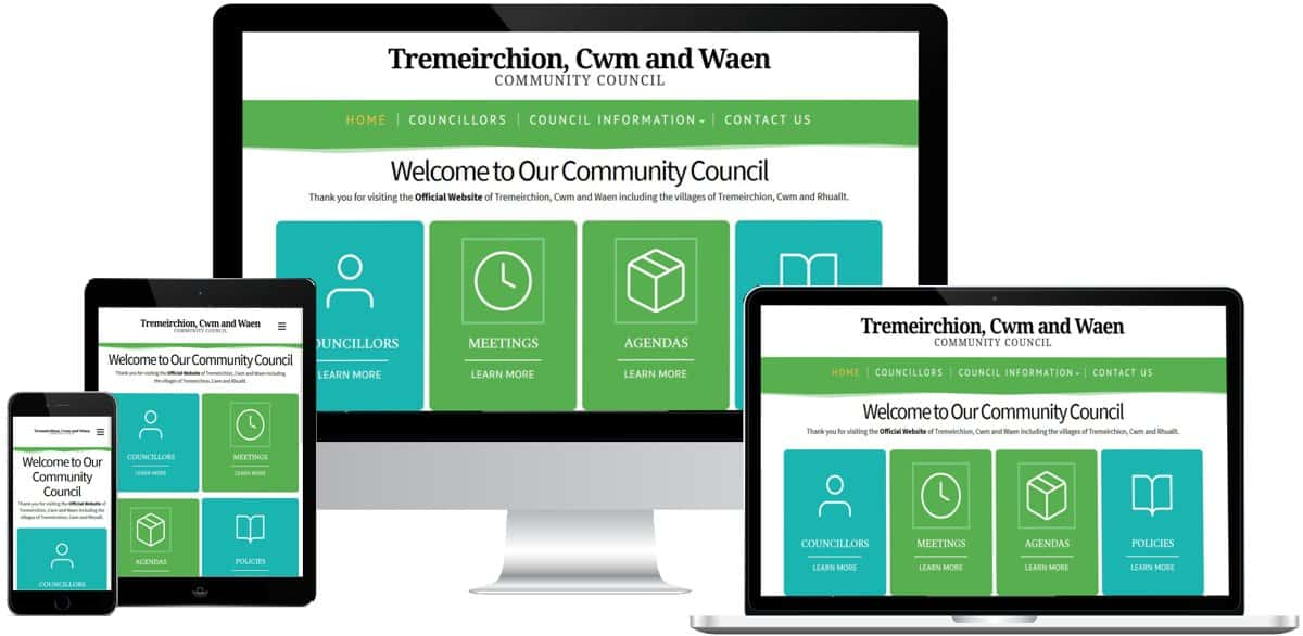 Community Council Websites North Wales